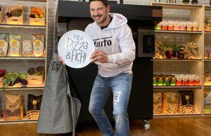 Tinto Mica pizza e fichi su La7