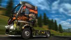 euro truck simulator 2 dinosaure
