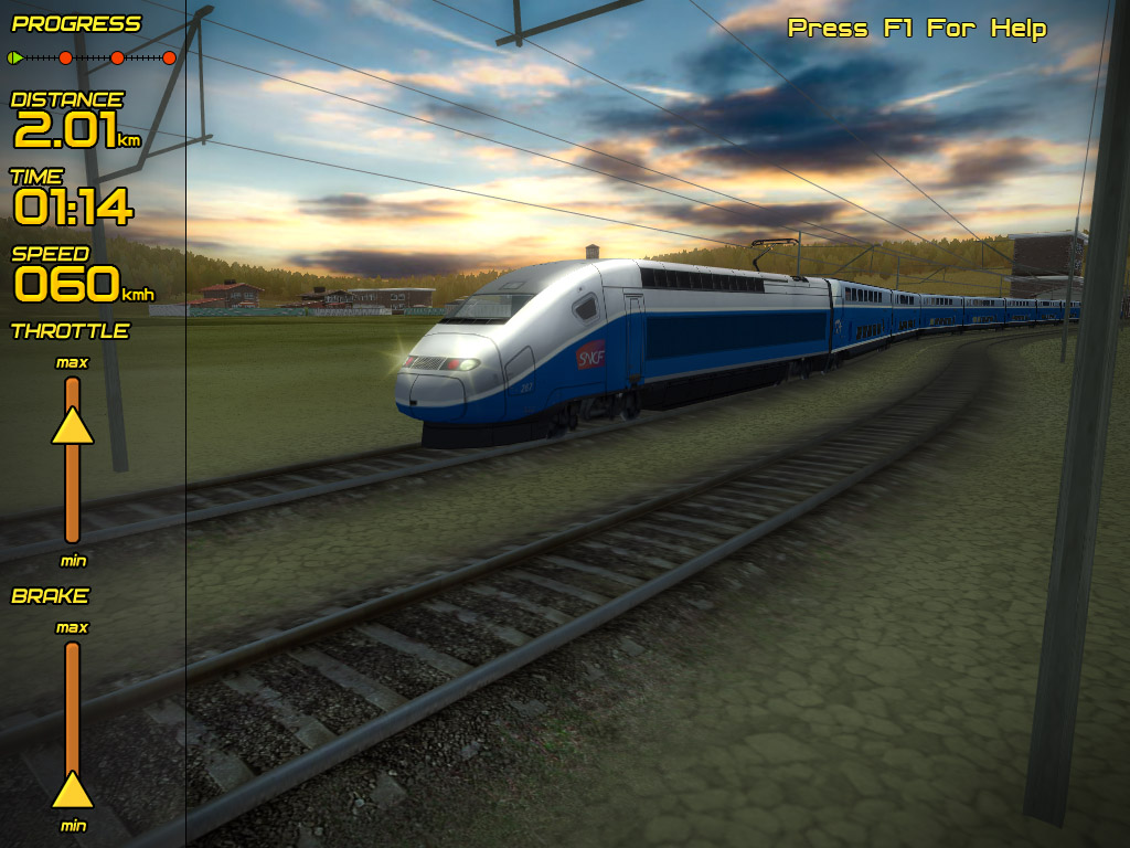Passenger Train Simulator-3