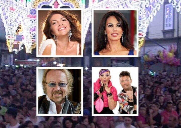 Poker di star per la festa della Madonna della Pace, ecco gli artisti che saliranno sul palco