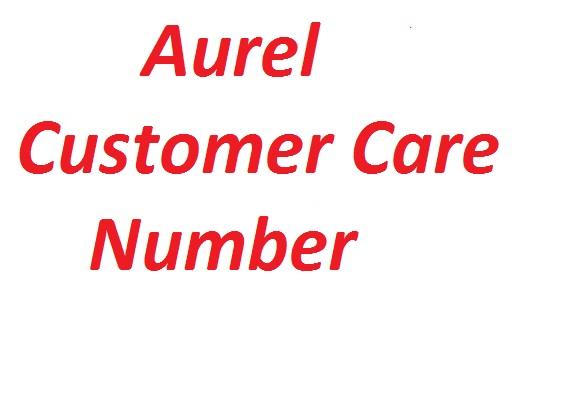 Aurel Customer Care Number