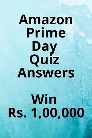 Amazon Prime Day Quiz Answers