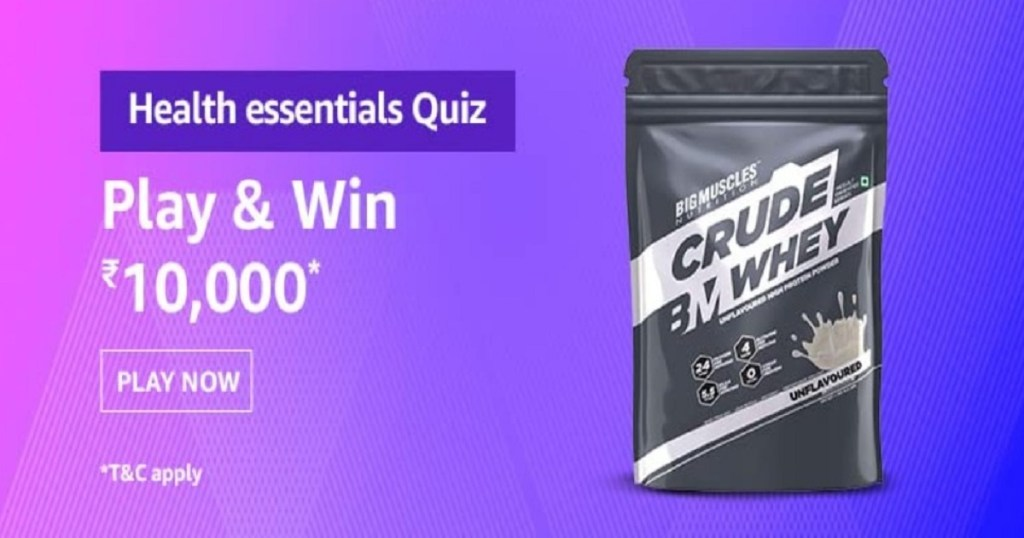 Amazon Health Essentials Quiz Answers