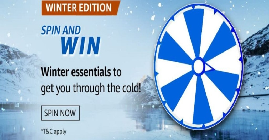 Amazon Spin And Win Winter Edition Quiz Answers