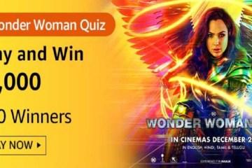 Amazon Wonder Woman Quiz Answers