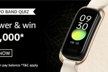 Amazon OPPO Band Quiz Answers