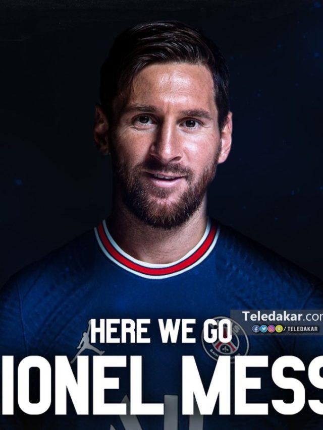 Messi est arrivé à l'aéroport de Barcelone