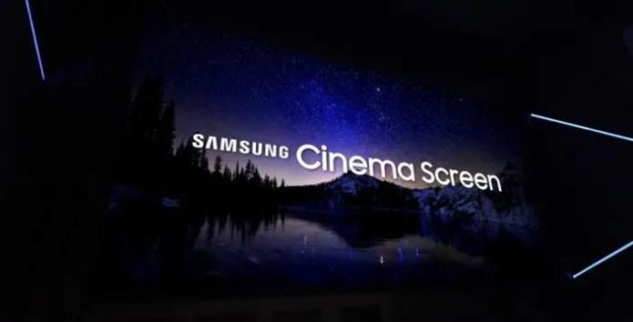 Samsung Cinema LED, il nuovo modo di vedere il cinema 4K