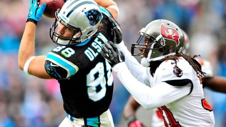 NFL Panthers, Greg Olsen non giocherà il match di oggi