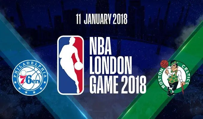 NBA London Game, Celtics-76ers in steaming su skysport.it