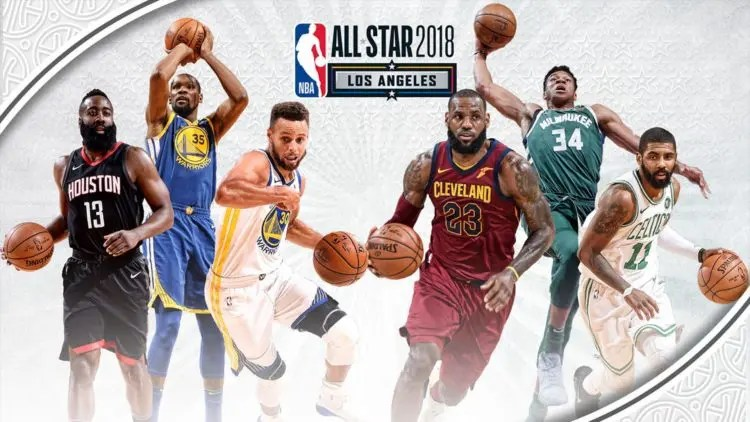 NBA, al Team LeBron l'All-Star Game 2018