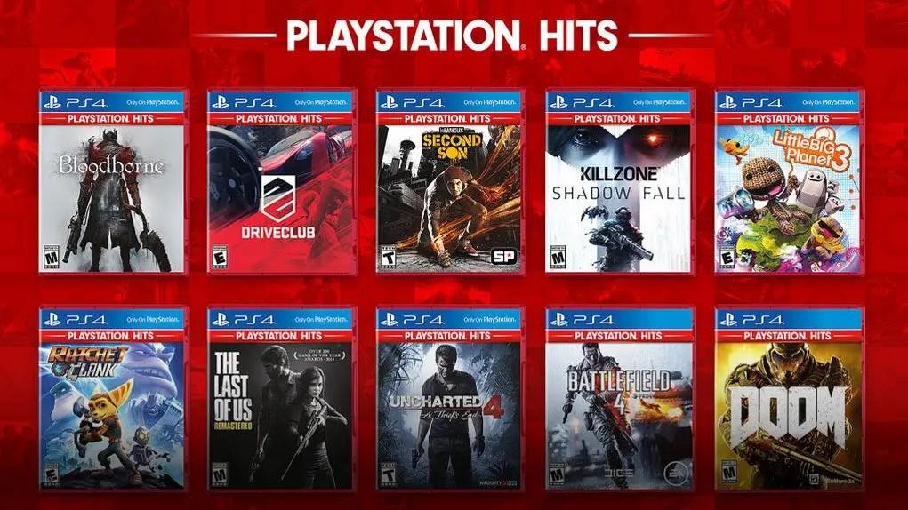 Playstation Hits, una selezione di giochi PS4 a soli 19,99 euro