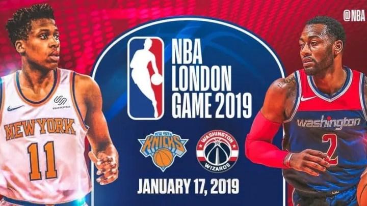 NBA London Game, Wizards-Knicks: diretta gratuita su skysport.it