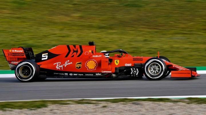Test F1, Vettel il più veloce della prima giornata