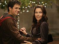 "Stephen Colletti e Sophia Bush in ONE TREE HILL - ""Resolve""   ©2006 The CW/Fred Norris"