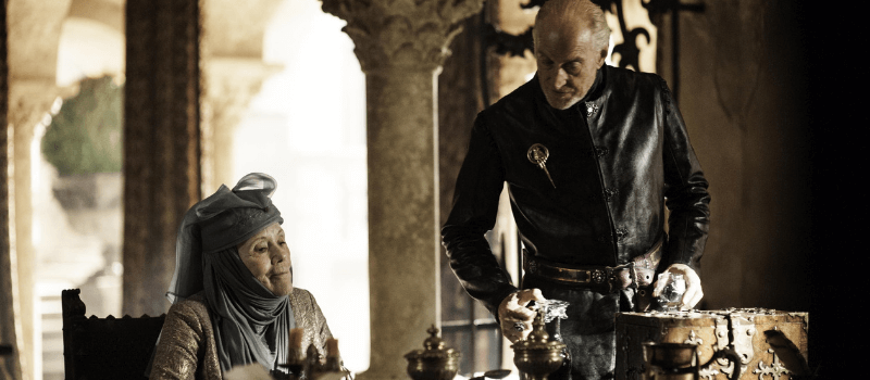game of thrones coppie olenna tywin