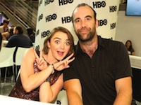 comic con 2014 game of thrones maisie