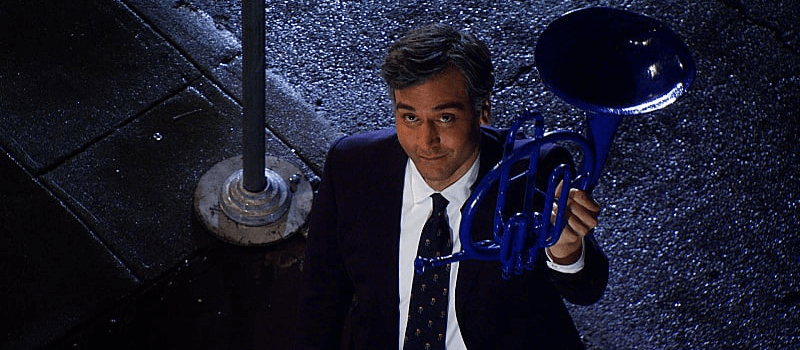 blue horn how i met your mother