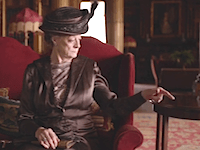DOWNTON ABBEY S06E03 violet dowager