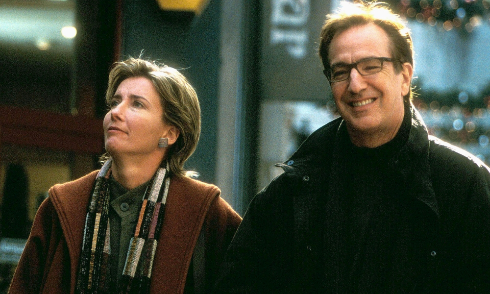 Emma Thompson e Alan Rickman