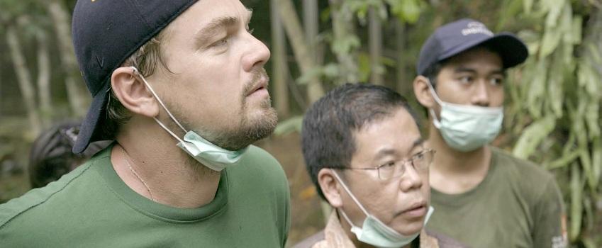 Leonardo DiCaprio nel documentario Before the Flood