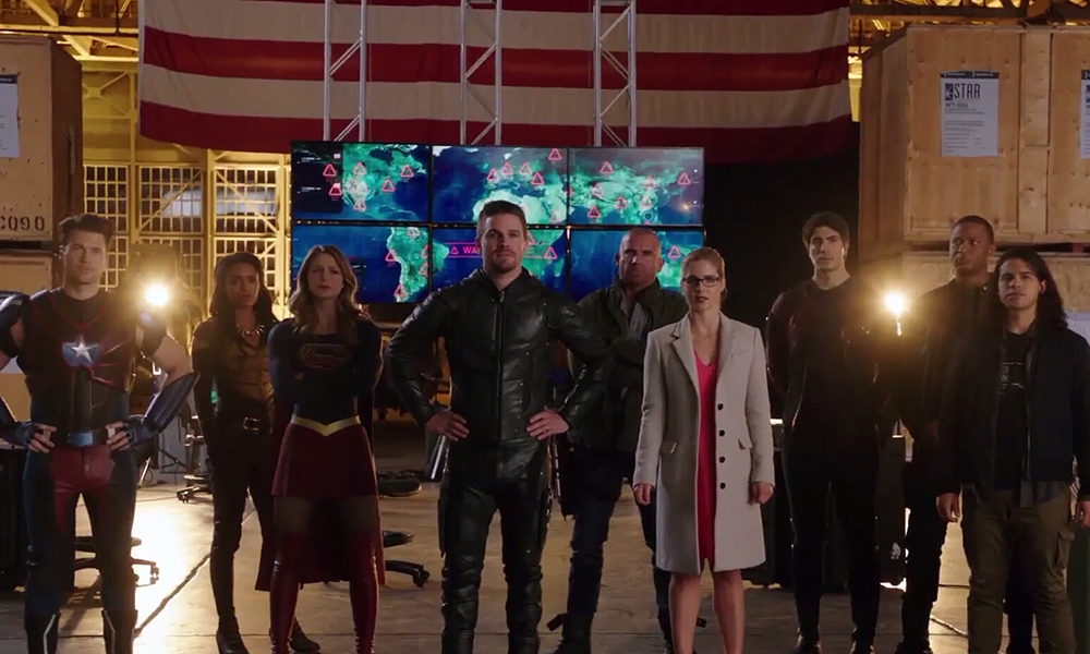 arrow flash crossover
