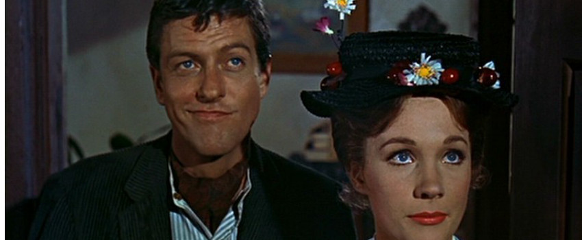 Dick Van Dyke e Julie Andrews nel 1964
