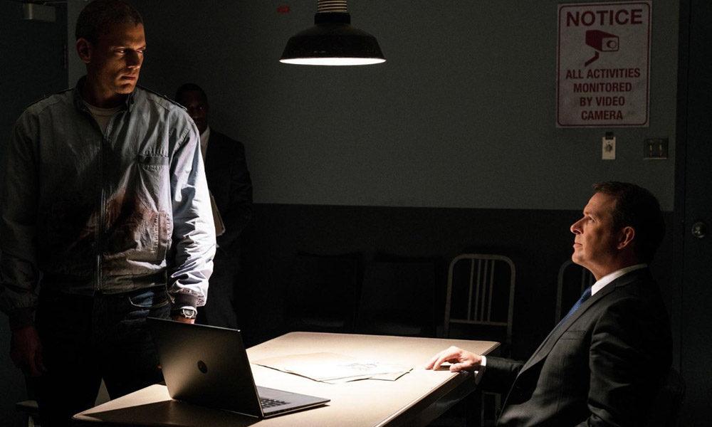 Wentworth Miller and Ken Tremblett in Prison Break