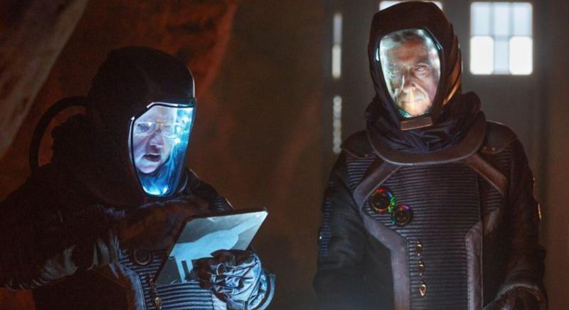 doctor who the empress of mars peter capaldi matt lucs