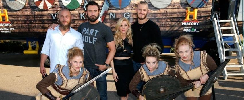 Vikings San Diego Comic Con