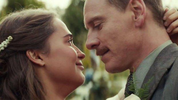Michael Fassbender e Alicia Vikander