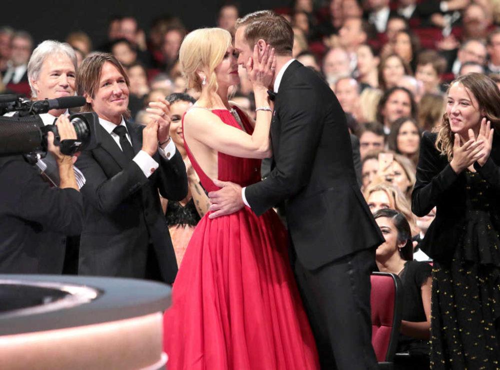 Big Little Lies: Nicole Kidman parla di quel bacio dato ad Alexander Skarsgård agli Emmy