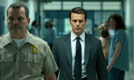 Jonathan Groff in Mindhunter