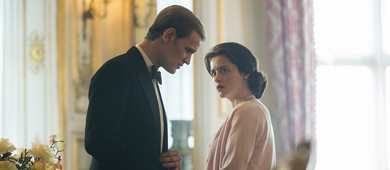 the crown 2 matt smith claire foy