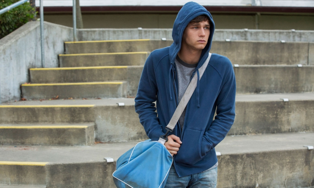 Brandon Flynn nella serie TV 13 Reasons Why - Tredici
