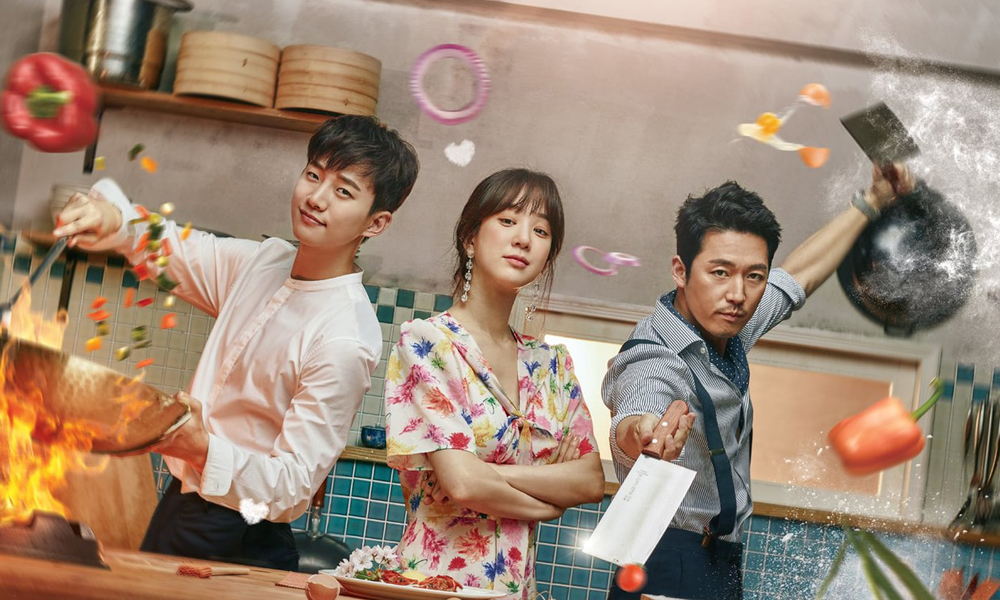wok of love drama coreani