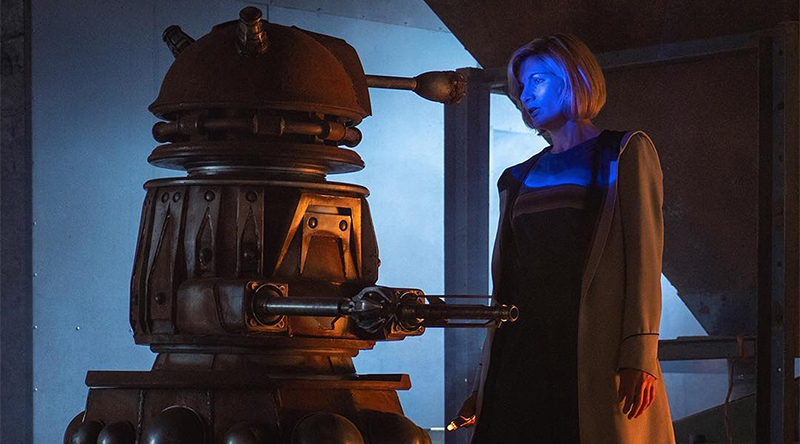 Doctor Who Dalek Jodie Whittaker