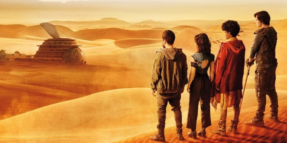 Il poster ufficiale della serie TV brasiliana