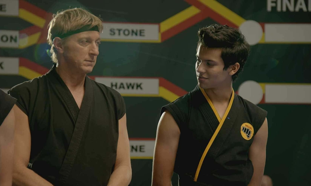 William Zabka nei panni di Johnny Lawrence