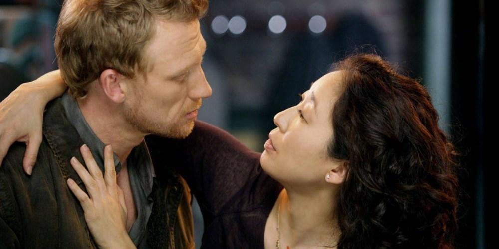 Sandra Oh e Kevin McKidd in Grey's Anatomy
