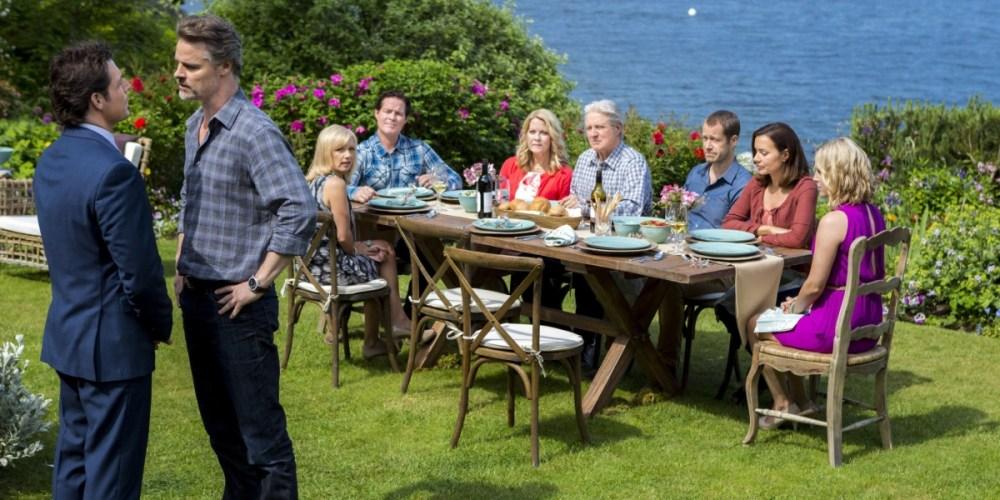 Una scena della serie TV di Hallmark Channel