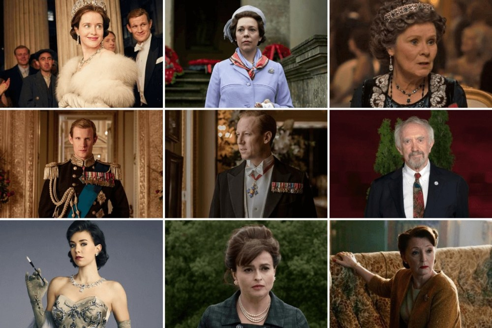 the crown stagione 5 cast