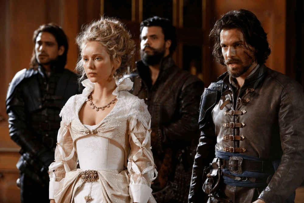 the musketeers serie tv regina anna