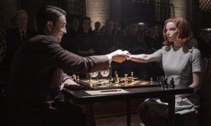 la regina degli scacchi Netflix