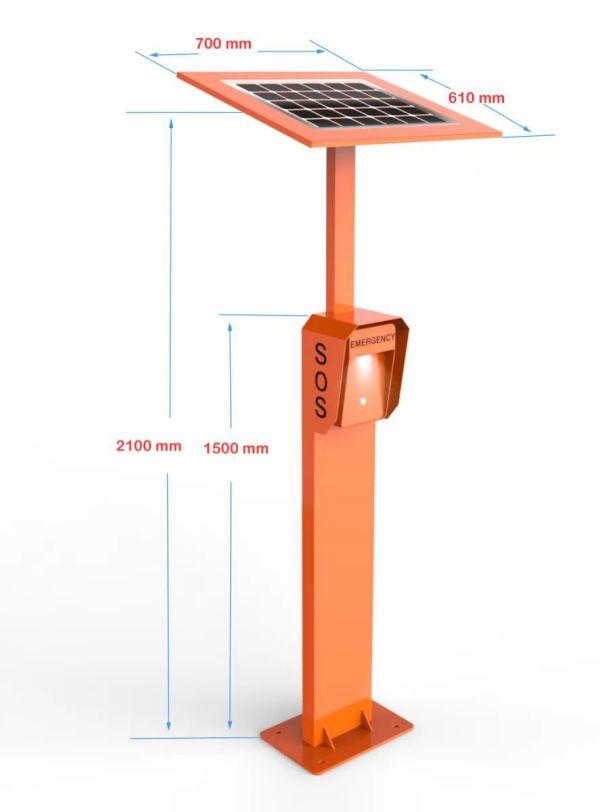 JR306-SC-SP Torre de Emergencia Vozell