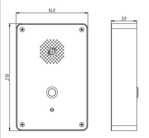 Drawing Telefono de Emergencia JR301-SC