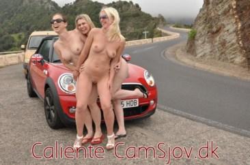 På udflugt med Cali, Betty og Elektra