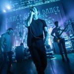 Dance Gavin Dance onstage with their TELEFUNKEN microphones. Photo by Patrick McManaman