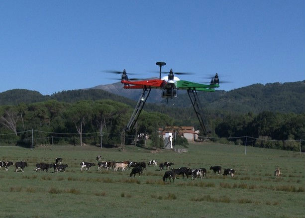 Un drone chiamato 'Efesto' ridurrà l'impatto ambientale in agricoltura e viticoltura