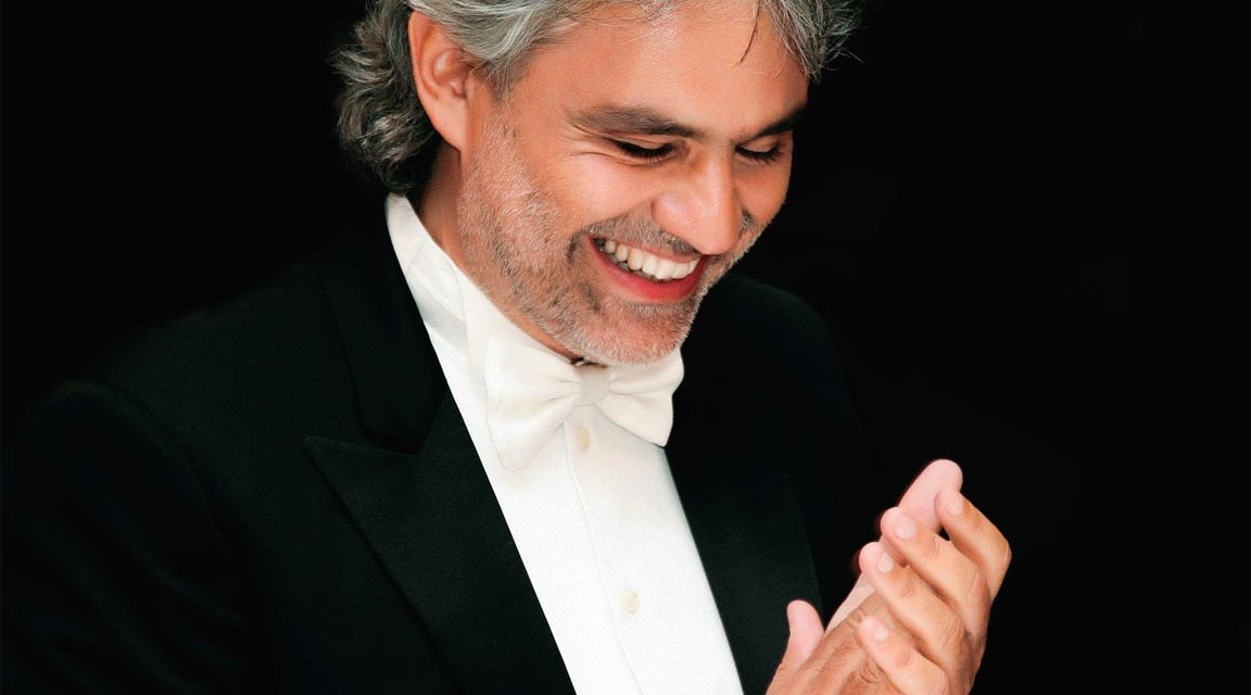 Andrea Bocelli con il festival della Robotica di Pisa. Il 12 settembre concerto in beneficenza al Teatro Verdi